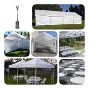 Tents Tables Chairs and Heaters